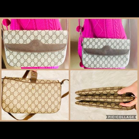 RARE⭐️VTG😍GUCCI Accordion Convertible Bag